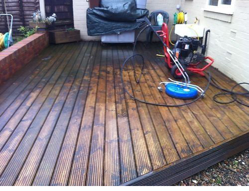 Decking Cleaning Pressure Washing Glasgow
